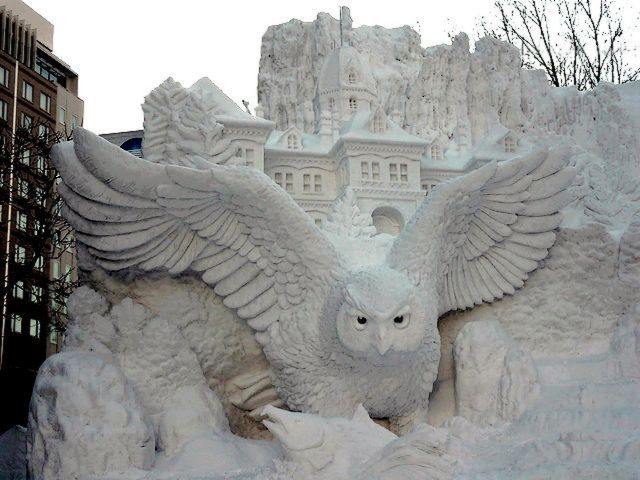 Blakiston Fish Owl Snow Sculpture in Odori Park Sapporo Hokkaido Japan - Blakiston fish owl on a background of the former Hokkaido Government Office building, a part of the huge snow sculpture, named 'Hokkaido - tourist wonderland', during the annual Snow Festival in Sapporo, Japan (February 2011). - , Blakiston, fish, fishes, owl, owls, snow, sculpture, sculptures, Odori, park, parks, Sapporo, Hokkaido, Japan, show, shows, places, place, nature, natures, travel, travels, trip, trips, tour, tours, background, backgrounds, former, government, governments, office, offices, building, buildings, part, parts, huge, tourist, tourists, wonderland, annual, festival, festivals, February, 2011 - Blakiston fish owl on a background of the former Hokkaido Government Office building, a part of the huge snow sculpture, named 'Hokkaido - tourist wonderland', during the annual Snow Festival in Sapporo, Japan (February 2011). Solve free online Blakiston Fish Owl Snow Sculpture in Odori Park Sapporo Hokkaido Japan puzzle games or send Blakiston Fish Owl Snow Sculpture in Odori Park Sapporo Hokkaido Japan puzzle game greeting ecards  from puzzles-games.eu.. Blakiston Fish Owl Snow Sculpture in Odori Park Sapporo Hokkaido Japan puzzle, puzzles, puzzles games, puzzles-games.eu, puzzle games, online puzzle games, free puzzle games, free online puzzle games, Blakiston Fish Owl Snow Sculpture in Odori Park Sapporo Hokkaido Japan free puzzle game, Blakiston Fish Owl Snow Sculpture in Odori Park Sapporo Hokkaido Japan online puzzle game, jigsaw puzzles, Blakiston Fish Owl Snow Sculpture in Odori Park Sapporo Hokkaido Japan jigsaw puzzle, jigsaw puzzle games, jigsaw puzzles games, Blakiston Fish Owl Snow Sculpture in Odori Park Sapporo Hokkaido Japan puzzle game ecard, puzzles games ecards, Blakiston Fish Owl Snow Sculpture in Odori Park Sapporo Hokkaido Japan puzzle game greeting ecard