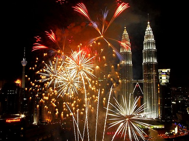 Fireworks near Petronas Twin Towers in Kuala Lumpur Malaysia - Fireworks explode near Petronas Twin Towers in Malaysia, during the New Year celebrations in Kuala Lumpur, on January 1, 2011. - , fireworks, firework, Petronas, Twin, Towers, Kuala, Lumpur, Malaysia, show, shows, holidays, holiday, festival, festivals, celebrations, celebration, January, 2011 - Fireworks explode near Petronas Twin Towers in Malaysia, during the New Year celebrations in Kuala Lumpur, on January 1, 2011. Solve free online Fireworks near Petronas Twin Towers in Kuala Lumpur Malaysia puzzle games or send Fireworks near Petronas Twin Towers in Kuala Lumpur Malaysia puzzle game greeting ecards  from puzzles-games.eu.. Fireworks near Petronas Twin Towers in Kuala Lumpur Malaysia puzzle, puzzles, puzzles games, puzzles-games.eu, puzzle games, online puzzle games, free puzzle games, free online puzzle games, Fireworks near Petronas Twin Towers in Kuala Lumpur Malaysia free puzzle game, Fireworks near Petronas Twin Towers in Kuala Lumpur Malaysia online puzzle game, jigsaw puzzles, Fireworks near Petronas Twin Towers in Kuala Lumpur Malaysia jigsaw puzzle, jigsaw puzzle games, jigsaw puzzles games, Fireworks near Petronas Twin Towers in Kuala Lumpur Malaysia puzzle game ecard, puzzles games ecards, Fireworks near Petronas Twin Towers in Kuala Lumpur Malaysia puzzle game greeting ecard