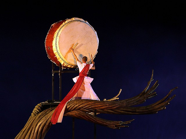 Performer plays Drum in Taipei Taiwan - Taiwanese performer plays a drum during the ceremony in the New Year's Eve on December 31, 2010 in Taipei, during celebrations to mark the 100th anniversary of the founding of the Republic of China, Taiwan's official name. - , performer, performers, drum, drums, Taipei, Taiwan, show, shows, holidays, holiday, festival, festivals, celebrations, celebration, travel, travels, tour, tours, entertainment, entertainments, ceremony, ceremonies, New, Year, years, eve, December, 2010, 100th, anniversary, anniversaries, Republic, republics, China, official, name, names - Taiwanese performer plays a drum during the ceremony in the New Year's Eve on December 31, 2010 in Taipei, during celebrations to mark the 100th anniversary of the founding of the Republic of China, Taiwan's official name. Solve free online Performer plays Drum in Taipei Taiwan puzzle games or send Performer plays Drum in Taipei Taiwan puzzle game greeting ecards  from puzzles-games.eu.. Performer plays Drum in Taipei Taiwan puzzle, puzzles, puzzles games, puzzles-games.eu, puzzle games, online puzzle games, free puzzle games, free online puzzle games, Performer plays Drum in Taipei Taiwan free puzzle game, Performer plays Drum in Taipei Taiwan online puzzle game, jigsaw puzzles, Performer plays Drum in Taipei Taiwan jigsaw puzzle, jigsaw puzzle games, jigsaw puzzles games, Performer plays Drum in Taipei Taiwan puzzle game ecard, puzzles games ecards, Performer plays Drum in Taipei Taiwan puzzle game greeting ecard