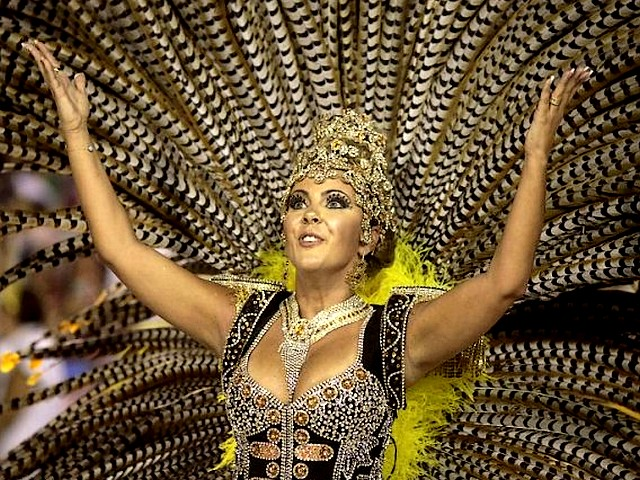 A Carnival Dancer