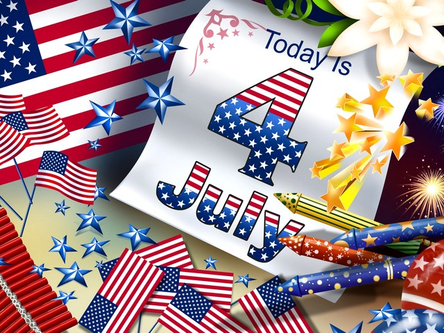 4th of July Holiday Wallpaper - A holiday wallpaper 'Today is 4 July'. On 4th of July Americans of all ages celebrate the Independence day with ceremonies, parades fireworks, sport events, family gathering and barbecues. - , 4th, of, July, holiday, wallpaper, walpapers, holidays, commemoration, commemorations, celebration, celebrations, event, events, show, shows, gathering, garherings, Americans, American, age, ages, Independence, day, days, ceremonie, ceremonies, parade, parades, fireworks, fireworks, family, families, barbecue, barbecues - A holiday wallpaper 'Today is 4 July'. On 4th of July Americans of all ages celebrate the Independence day with ceremonies, parades fireworks, sport events, family gathering and barbecues. Solve free online 4th of July Holiday Wallpaper puzzle games or send 4th of July Holiday Wallpaper puzzle game greeting ecards  from puzzles-games.eu.. 4th of July Holiday Wallpaper puzzle, puzzles, puzzles games, puzzles-games.eu, puzzle games, online puzzle games, free puzzle games, free online puzzle games, 4th of July Holiday Wallpaper free puzzle game, 4th of July Holiday Wallpaper online puzzle game, jigsaw puzzles, 4th of July Holiday Wallpaper jigsaw puzzle, jigsaw puzzle games, jigsaw puzzles games, 4th of July Holiday Wallpaper puzzle game ecard, puzzles games ecards, 4th of July Holiday Wallpaper puzzle game greeting ecard