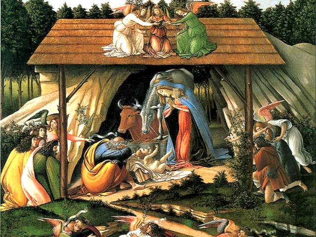 Christmas Card Mystical Nativity Sandro Botticelli - Christmas card 'Mystical Nativity' (about 1501, tempera on canvas, National Gallery, London, England), a painting by Sandro Botticelli (Alessandro di Mariano di Vanni Filipepi, 1445-1510), an Italian painter during the Early Renaissance. - , Christmas, card, cards, Mystical, Nativity, Sandro, Botticelli, holidays, holiday, festival, festivals, celebrations, celebration, Christianity, Jesus, birthday, birthdays, adoration, art, arts, painter, painters, artist, artists, 1501, tempera, canvas, canvases, National, gallery, galleries, London, England, painting, paintings, 1445-1510, Italian, Early, Renaissance - Christmas card 'Mystical Nativity' (about 1501, tempera on canvas, National Gallery, London, England), a painting by Sandro Botticelli (Alessandro di Mariano di Vanni Filipepi, 1445-1510), an Italian painter during the Early Renaissance. Solve free online Christmas Card Mystical Nativity Sandro Botticelli puzzle games or send Christmas Card Mystical Nativity Sandro Botticelli puzzle game greeting ecards  from puzzles-games.eu.. Christmas Card Mystical Nativity Sandro Botticelli puzzle, puzzles, puzzles games, puzzles-games.eu, puzzle games, online puzzle games, free puzzle games, free online puzzle games, Christmas Card Mystical Nativity Sandro Botticelli free puzzle game, Christmas Card Mystical Nativity Sandro Botticelli online puzzle game, jigsaw puzzles, Christmas Card Mystical Nativity Sandro Botticelli jigsaw puzzle, jigsaw puzzle games, jigsaw puzzles games, Christmas Card Mystical Nativity Sandro Botticelli puzzle game ecard, puzzles games ecards, Christmas Card Mystical Nativity Sandro Botticelli puzzle game greeting ecard