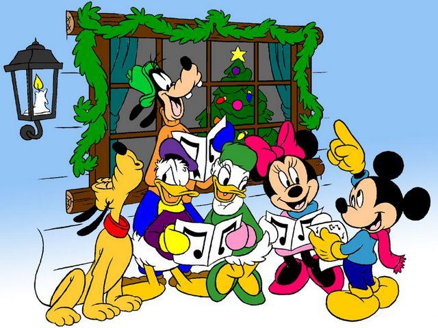 Disney Christmas Carols Wallpaper - Puzzles-Games.eu - puzzles games