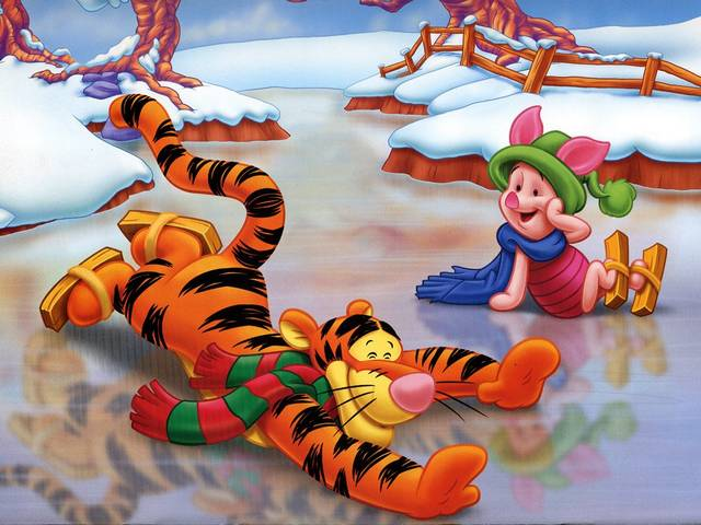 Disney Winter Tigger and Piglet on Skating-Rink Wallpaper - Wallpaper with Tigger and Piglet, charming cartoon characters by Walt Disney, which are amusing during the winter on the skating-rink. - , Disney, winter, winters, Tigger, Piglet, skating, rink, rinks, wallpaper, wallpapers, holidays, holiday, cartoon, cartoons, nature, natures, season, seasons, charming, characters, character, Walt - Wallpaper with Tigger and Piglet, charming cartoon characters by Walt Disney, which are amusing during the winter on the skating-rink. Solve free online Disney Winter Tigger and Piglet on Skating-Rink Wallpaper puzzle games or send Disney Winter Tigger and Piglet on Skating-Rink Wallpaper puzzle game greeting ecards  from puzzles-games.eu.. Disney Winter Tigger and Piglet on Skating-Rink Wallpaper puzzle, puzzles, puzzles games, puzzles-games.eu, puzzle games, online puzzle games, free puzzle games, free online puzzle games, Disney Winter Tigger and Piglet on Skating-Rink Wallpaper free puzzle game, Disney Winter Tigger and Piglet on Skating-Rink Wallpaper online puzzle game, jigsaw puzzles, Disney Winter Tigger and Piglet on Skating-Rink Wallpaper jigsaw puzzle, jigsaw puzzle games, jigsaw puzzles games, Disney Winter Tigger and Piglet on Skating-Rink Wallpaper puzzle game ecard, puzzles games ecards, Disney Winter Tigger and Piglet on Skating-Rink Wallpaper puzzle game greeting ecard