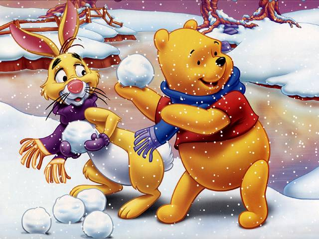 Disney Winter Winnie the Pooh and Rabbit play with Snowballs Wallpaper - Wonderful wallpaper with Winnie the Pooh and Rabbit, favorite cartoon characters by Walt Disney, which play with snowballs and are enjoying the winter. - , Disney, winter, winters, Winnie, Pooh, Rabbit, snowballs, snowball, wallpaper, wallpapers, holidays, holiday, cartoon, cartoons, nature, natures, season, seasons, wonderful, favorite, characters, character, Walt - Wonderful wallpaper with Winnie the Pooh and Rabbit, favorite cartoon characters by Walt Disney, which play with snowballs and are enjoying the winter. Solve free online Disney Winter Winnie the Pooh and Rabbit play with Snowballs Wallpaper puzzle games or send Disney Winter Winnie the Pooh and Rabbit play with Snowballs Wallpaper puzzle game greeting ecards  from puzzles-games.eu.. Disney Winter Winnie the Pooh and Rabbit play with Snowballs Wallpaper puzzle, puzzles, puzzles games, puzzles-games.eu, puzzle games, online puzzle games, free puzzle games, free online puzzle games, Disney Winter Winnie the Pooh and Rabbit play with Snowballs Wallpaper free puzzle game, Disney Winter Winnie the Pooh and Rabbit play with Snowballs Wallpaper online puzzle game, jigsaw puzzles, Disney Winter Winnie the Pooh and Rabbit play with Snowballs Wallpaper jigsaw puzzle, jigsaw puzzle games, jigsaw puzzles games, Disney Winter Winnie the Pooh and Rabbit play with Snowballs Wallpaper puzzle game ecard, puzzles games ecards, Disney Winter Winnie the Pooh and Rabbit play with Snowballs Wallpaper puzzle game greeting ecard