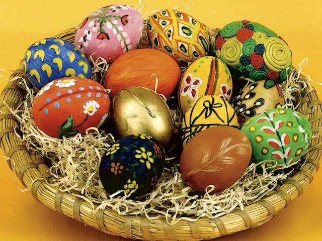 Easter Festive Decoration - Festive decoration of Easter eggs with handmade ornaments. - , Easter, festive, decoration, decorations, holiday, holidays, feast, feasts, celebration, celebrations, nature, natures, season, seasons, eggs, egg, handmade, ornaments, ornament - Festive decoration of Easter eggs with handmade ornaments. Solve free online Easter Festive Decoration puzzle games or send Easter Festive Decoration puzzle game greeting ecards  from puzzles-games.eu.. Easter Festive Decoration puzzle, puzzles, puzzles games, puzzles-games.eu, puzzle games, online puzzle games, free puzzle games, free online puzzle games, Easter Festive Decoration free puzzle game, Easter Festive Decoration online puzzle game, jigsaw puzzles, Easter Festive Decoration jigsaw puzzle, jigsaw puzzle games, jigsaw puzzles games, Easter Festive Decoration puzzle game ecard, puzzles games ecards, Easter Festive Decoration puzzle game greeting ecard