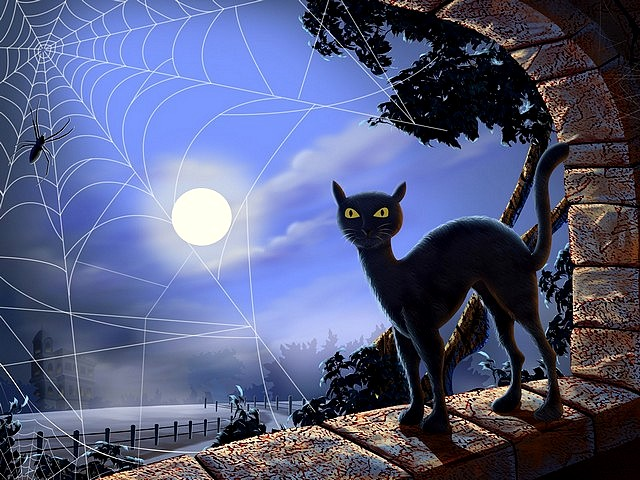 Halloween Evil Cat at Moonlight - Associated with the darkness of night during the Halloween, the black colour of the cat at the moonlight, has always been associated with the evil, due to the fear of the night of our ancestors. - , Halloween, evil, cat, cats, moonlight, holidays, holiday, party, parties, feast, feasts, festival, festivals, festivity, festivities, darkness, darknesses, night, nights, black, colour, colours, fear, fears, ancestors, ancestor - Associated with the darkness of night during the Halloween, the black colour of the cat at the moonlight, has always been associated with the evil, due to the fear of the night of our ancestors. Lösen Sie kostenlose Halloween Evil Cat at Moonlight Online Puzzle Spiele oder senden Sie Halloween Evil Cat at Moonlight Puzzle Spiel Gruß ecards  from puzzles-games.eu.. Halloween Evil Cat at Moonlight puzzle, Rätsel, puzzles, Puzzle Spiele, puzzles-games.eu, puzzle games, Online Puzzle Spiele, kostenlose Puzzle Spiele, kostenlose Online Puzzle Spiele, Halloween Evil Cat at Moonlight kostenlose Puzzle Spiel, Halloween Evil Cat at Moonlight Online Puzzle Spiel, jigsaw puzzles, Halloween Evil Cat at Moonlight jigsaw puzzle, jigsaw puzzle games, jigsaw puzzles games, Halloween Evil Cat at Moonlight Puzzle Spiel ecard, Puzzles Spiele ecards, Halloween Evil Cat at Moonlight Puzzle Spiel Gruß ecards