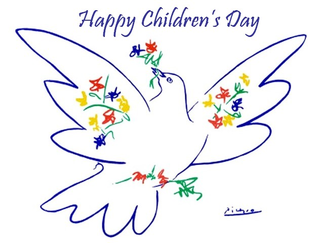 Happy Childrens Day Picasso Dove of Peace Poster - Poster with the 'Dove of Peace' for the International Children's Day, which is celebrated on 1st of June, the famous drawing by the Spanish painter, sculptor, printmaker, ceramicist and stage designer Pablo Picasso (1881-1973), widely used as a symbol in the peace movements. - , happy, childrens, children, child, day, days, Picasso, dove, doves, peace, poster, posters, holidays, holiday, art, arts, International, 1st, June, famous, drawing, drawings, Spanish, painter, painters, sculptor, sculptors, printmaker, printmakers, ceramicist, ceramicists, stage, stages, designer, designers, 1881, 1973, symbol, symbols, movements, movement - Poster with the 'Dove of Peace' for the International Children's Day, which is celebrated on 1st of June, the famous drawing by the Spanish painter, sculptor, printmaker, ceramicist and stage designer Pablo Picasso (1881-1973), widely used as a symbol in the peace movements. Solve free online Happy Childrens Day Picasso Dove of Peace Poster puzzle games or send Happy Childrens Day Picasso Dove of Peace Poster puzzle game greeting ecards  from puzzles-games.eu.. Happy Childrens Day Picasso Dove of Peace Poster puzzle, puzzles, puzzles games, puzzles-games.eu, puzzle games, online puzzle games, free puzzle games, free online puzzle games, Happy Childrens Day Picasso Dove of Peace Poster free puzzle game, Happy Childrens Day Picasso Dove of Peace Poster online puzzle game, jigsaw puzzles, Happy Childrens Day Picasso Dove of Peace Poster jigsaw puzzle, jigsaw puzzle games, jigsaw puzzles games, Happy Childrens Day Picasso Dove of Peace Poster puzzle game ecard, puzzles games ecards, Happy Childrens Day Picasso Dove of Peace Poster puzzle game greeting ecard