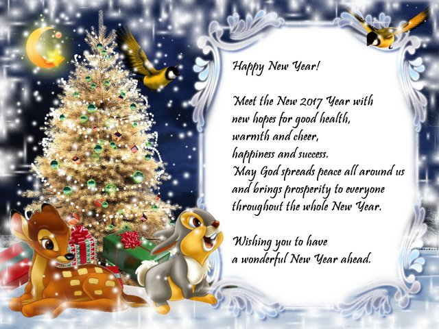Happy New Year 2017 Wishes - Wishes for Happy New Year!<br /> <br /> Meet the New 2017 Year with new hopes for good health, warmth and cheer, happiness and success.<br /> May God spreads peace all around us and brings prosperity to everyone throughout the whole New Year.<br /> Wishing you to have a wonderful New Year ahead. - , Happy, New, Year, wishes, wish, holidays, holiday, hopes, hope, health, warmth, cheer, happiness, success, God, peace, prosperity, wonderful - Wishes for Happy New Year!<br /> <br /> Meet the New 2017 Year with new hopes for good health, warmth and cheer, happiness and success.<br /> May God spreads peace all around us and brings prosperity to everyone throughout the whole New Year.<br /> Wishing you to have a wonderful New Year ahead. Solve free online Happy New Year 2017 Wishes puzzle games or send Happy New Year 2017 Wishes puzzle game greeting ecards  from puzzles-games.eu.. Happy New Year 2017 Wishes puzzle, puzzles, puzzles games, puzzles-games.eu, puzzle games, online puzzle games, free puzzle games, free online puzzle games, Happy New Year 2017 Wishes free puzzle game, Happy New Year 2017 Wishes online puzzle game, jigsaw puzzles, Happy New Year 2017 Wishes jigsaw puzzle, jigsaw puzzle games, jigsaw puzzles games, Happy New Year 2017 Wishes puzzle game ecard, puzzles games ecards, Happy New Year 2017 Wishes puzzle game greeting ecard