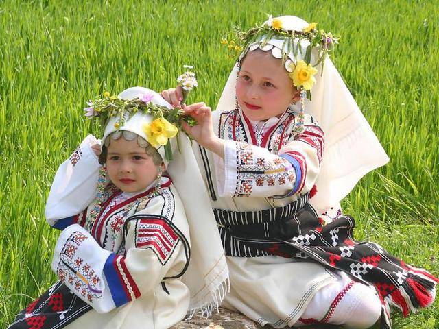 Little Lazarki - Little Lazarki, dressed in beautiful national costumes, are twining wreaths from willow twigs and spring flowers and decorate their hair on Lazarovden (Lazarus Saturday), the holiday that brings a cheerful spring mood and is eagerly awaited by participants, residents and guests of villages and towns in Bulgaria. - , Little, Lazarki, dressed, in, beautiful, national, costumes, are, twining, wreaths, from, willow, twigs, and, spring, flowers, and, decorate, their, hair, on, Lazarovden, (Lazarus, Saturday), the, holiday, that, brings, a, cheerful, spring, mood, and, is, eagerly, awaited, by, participants, residents, and, guests, of, villages, and, towns, in, Bulgaria. - Little Lazarki, dressed in beautiful national costumes, are twining wreaths from willow twigs and spring flowers and decorate their hair on Lazarovden (Lazarus Saturday), the holiday that brings a cheerful spring mood and is eagerly awaited by participants, residents and guests of villages and towns in Bulgaria. Solve free online Little Lazarki puzzle games or send Little Lazarki puzzle game greeting ecards  from puzzles-games.eu.. Little Lazarki puzzle, puzzles, puzzles games, puzzles-games.eu, puzzle games, online puzzle games, free puzzle games, free online puzzle games, Little Lazarki free puzzle game, Little Lazarki online puzzle game, jigsaw puzzles, Little Lazarki jigsaw puzzle, jigsaw puzzle games, jigsaw puzzles games, Little Lazarki puzzle game ecard, puzzles games ecards, Little Lazarki puzzle game greeting ecard