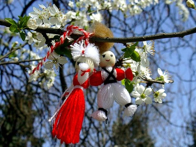 Martenitsa Pijo and Penda on Blooming Branch - Bulgarian martenitsa 'Pijo and Penda', which according to the tradition related to the welcoming of the upcoming spring is hooked on the blooming branch. - , martenitsa, martenitsi, Pijo, Penda, blooming, branch, branches, holidays, holiday, festival, festivals, celebrations, celebration, Bulgarian, tradition, traditions, welcoming, upcoming, spring - Bulgarian martenitsa 'Pijo and Penda', which according to the tradition related to the welcoming of the upcoming spring is hooked on the blooming branch. Solve free online Martenitsa Pijo and Penda on Blooming Branch puzzle games or send Martenitsa Pijo and Penda on Blooming Branch puzzle game greeting ecards  from puzzles-games.eu.. Martenitsa Pijo and Penda on Blooming Branch puzzle, puzzles, puzzles games, puzzles-games.eu, puzzle games, online puzzle games, free puzzle games, free online puzzle games, Martenitsa Pijo and Penda on Blooming Branch free puzzle game, Martenitsa Pijo and Penda on Blooming Branch online puzzle game, jigsaw puzzles, Martenitsa Pijo and Penda on Blooming Branch jigsaw puzzle, jigsaw puzzle games, jigsaw puzzles games, Martenitsa Pijo and Penda on Blooming Branch puzzle game ecard, puzzles games ecards, Martenitsa Pijo and Penda on Blooming Branch puzzle game greeting ecard