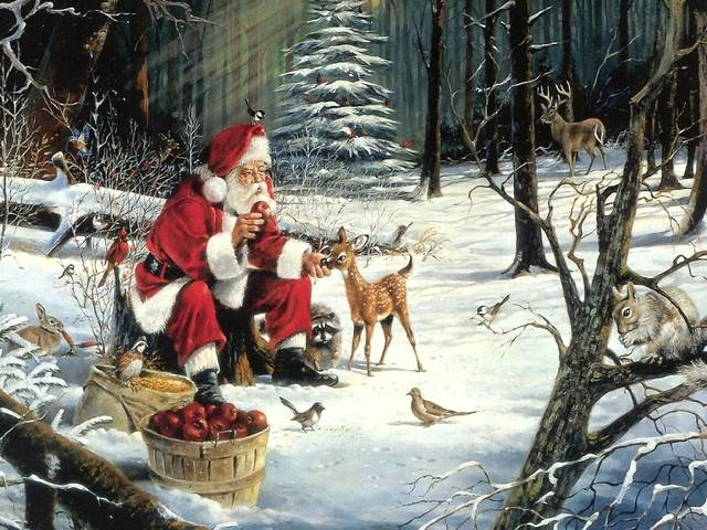 Santa Claus Friends - Santa Claus surrounded by his friends in the forest. - , Santa, Claus, friends, friend, holidays, holiday, festival, festivals, celebrations, celebration, forest, forests - Santa Claus surrounded by his friends in the forest. Solve free online Santa Claus Friends puzzle games or send Santa Claus Friends puzzle game greeting ecards  from puzzles-games.eu.. Santa Claus Friends puzzle, puzzles, puzzles games, puzzles-games.eu, puzzle games, online puzzle games, free puzzle games, free online puzzle games, Santa Claus Friends free puzzle game, Santa Claus Friends online puzzle game, jigsaw puzzles, Santa Claus Friends jigsaw puzzle, jigsaw puzzle games, jigsaw puzzles games, Santa Claus Friends puzzle game ecard, puzzles games ecards, Santa Claus Friends puzzle game greeting ecard