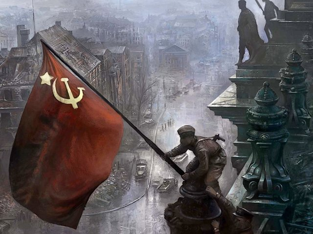 Victory Day Flag over Reichstag Berlin Germany - A historic photo, symbol of the Victory Day, by Red Army photographer Yevgeny Khaldei, depicting Soviet soldier who raises flag over the Reichstag, during the Battle of Berlin on 2 May 1945, the bloodiest final Strategic Offensive Operation by the Soviet Union at the end of World War II. - , victory, day, days, flag, flags, Reichstag, Berlin, Germany, holidays, holiday, art, arts, show, shows, travel, travels, historic, photo, photos, symbol, symbols, Red, Army, armies, photographer, photographers, Yevgeny, Khaldei, Soviet, soldier, soldiers, battle, battles, May, 1945, bloodiest, final, strategic, offensive, operation, operations, Soviet, Union, end, World, War, WWII - A historic photo, symbol of the Victory Day, by Red Army photographer Yevgeny Khaldei, depicting Soviet soldier who raises flag over the Reichstag, during the Battle of Berlin on 2 May 1945, the bloodiest final Strategic Offensive Operation by the Soviet Union at the end of World War II. Solve free online Victory Day Flag over Reichstag Berlin Germany puzzle games or send Victory Day Flag over Reichstag Berlin Germany puzzle game greeting ecards  from puzzles-games.eu.. Victory Day Flag over Reichstag Berlin Germany puzzle, puzzles, puzzles games, puzzles-games.eu, puzzle games, online puzzle games, free puzzle games, free online puzzle games, Victory Day Flag over Reichstag Berlin Germany free puzzle game, Victory Day Flag over Reichstag Berlin Germany online puzzle game, jigsaw puzzles, Victory Day Flag over Reichstag Berlin Germany jigsaw puzzle, jigsaw puzzle games, jigsaw puzzles games, Victory Day Flag over Reichstag Berlin Germany puzzle game ecard, puzzles games ecards, Victory Day Flag over Reichstag Berlin Germany puzzle game greeting ecard
