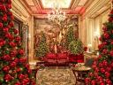 Сhristmas Decoration at Four Seasons Hotel George V Paris France