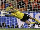 World Cup 2010 Champion Marten Stekelenburg makes a Save