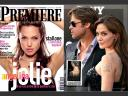 Angelina Jolie Premiere Magazine France and Us Weekly Magazine
