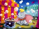 Disney Dumbo and Timothy beside Bucket with Champagne Wallpaper