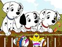 Disney Easter Dalmatians Wallpaper