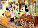 Disney Mickey Mouse Florist Wallpaper