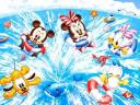 Disney Summer Babies Mickey and Friends Wallpaper