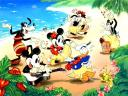 Disney Summer Jamboree at the Sea Coast Wallpaper