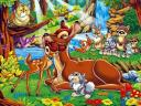 Disney Valentines Day Bambi Wallpaper