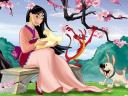 Disney Valentines Day Mulan Wallpaper