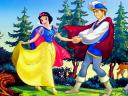 Disney Valentines Day Snow White and Prince Wallpaper