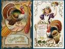 Thanksgiving Greetings Vintage Postcards