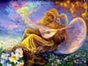 Angel Melodies by Josephine Wall