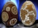 Easter Eggs Intricate Sculptures by Franc Grom