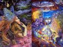 Heart and Soul and Child of the Universe by Josephine Wall