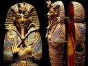 Tutankhamun Golden Coffin for Viscera Melbourne Museum Victoria Australia