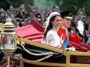 Royal Wedding England Prince William and Catherine Duchess of Cambridge in 1902 State Landau Carriage London