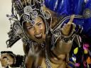 Rio Carnival Brazil 2011 Dancer from Portela Samba School