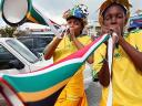 World Cup 2010 Fans play Vuvuzela