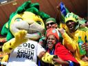 World Cup 2010 South Africa Fans with Zakumi
