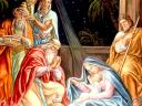 Christmas Card Adoration of the Wise Men