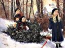 Christmas Card Kids Joy
