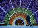 Christmas Lights Moscow Russia