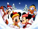 Disney Christmas Greeting Card