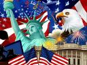 Fourth of July Happy Birthday to America Wallpaper