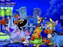 Halloween Disney Cartoon Characters Wallpaper