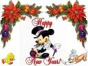 Happy New Year Mickey Mouse Wallpaper