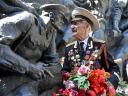 Victory Day Veteran from WWII in Kiev Ukraine