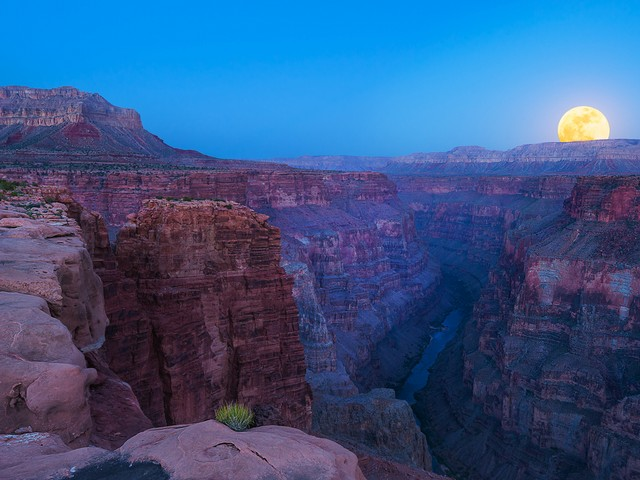 Supermoon over Grand Canyon by Jason Hines - Puzzles-Games.eu - puzzles  games