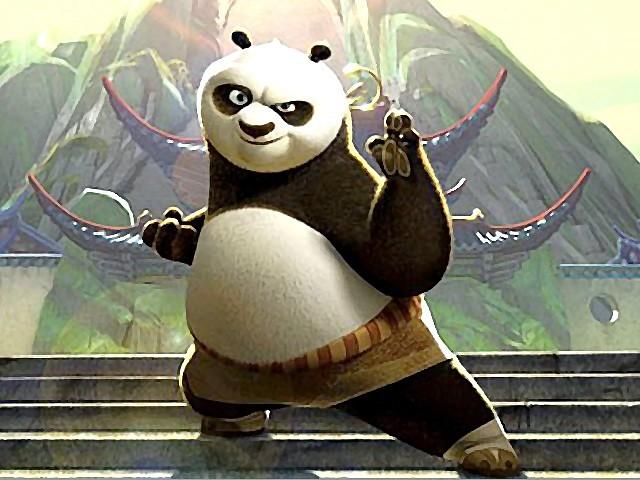 Kung Fu Panda Style