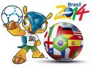 2014 Brazil FIFA World Cup Mascot Fuleco Wallpaper