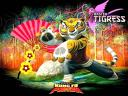 Kung Fu Panda Master Tigress Wallpaper