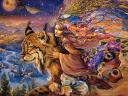 Flight of the Lynx by Josephine Wall